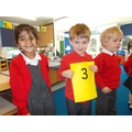 Matching number of children to numeral