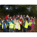 Lime Class love Forest School!