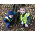We found lots of animal habitats.