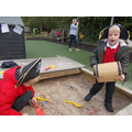 Buried Treasure in the sandpit