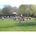 Running with juniors