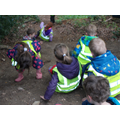 Forest Schools fun on the slopes