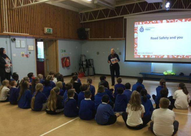 Informative chat about using the roads safely and learnt how to be sensible.
