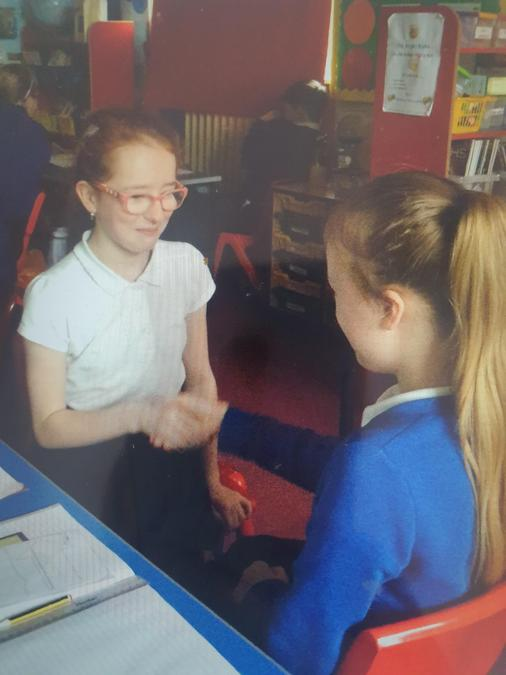 Drama- Topic is Wartime Britain, children acted out the Christmas Day truce.