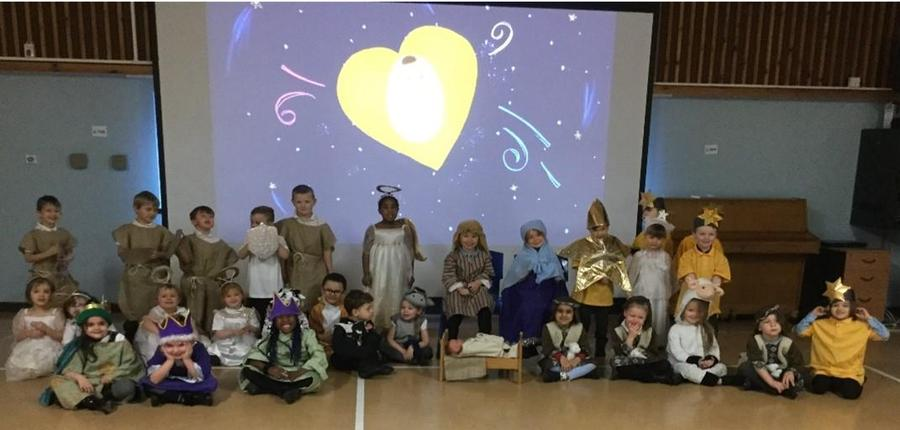 Our amazing nativity performance! 'The Greatest Journey.'