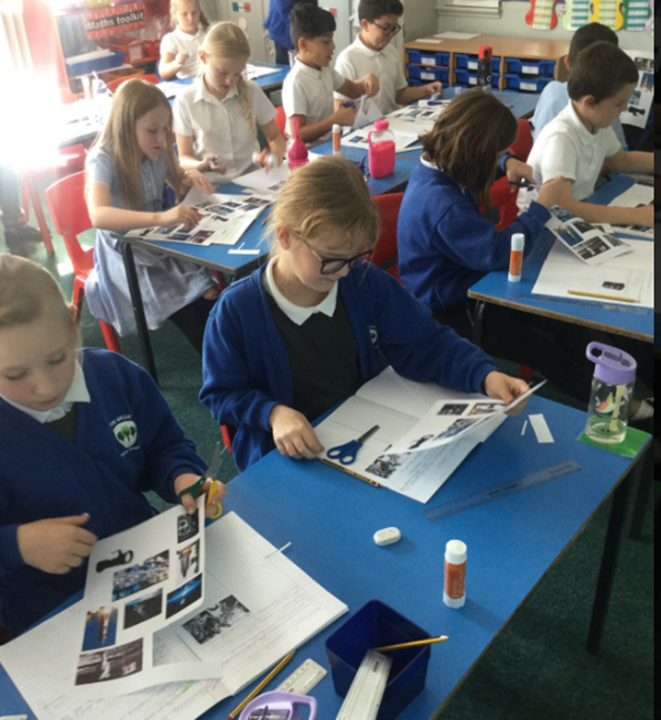 Topic - categorising technology during the space race past and present.