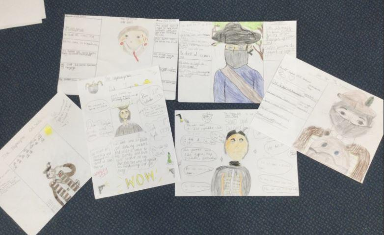 During our experience day, we researched Dick Turpin and made some wonderful posters.