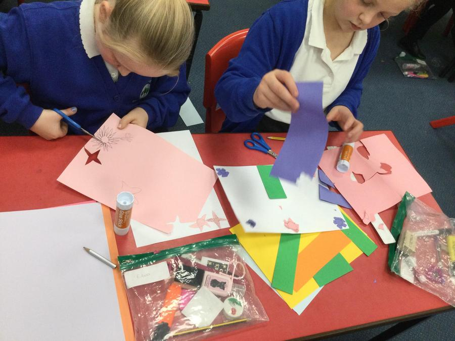 Creating Art like William Morris and getting creative!
