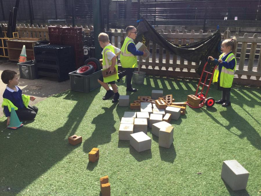 Enjoy learning through outdoor play.