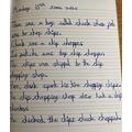 Heidi - Handwriting