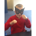 Superhero in the making!