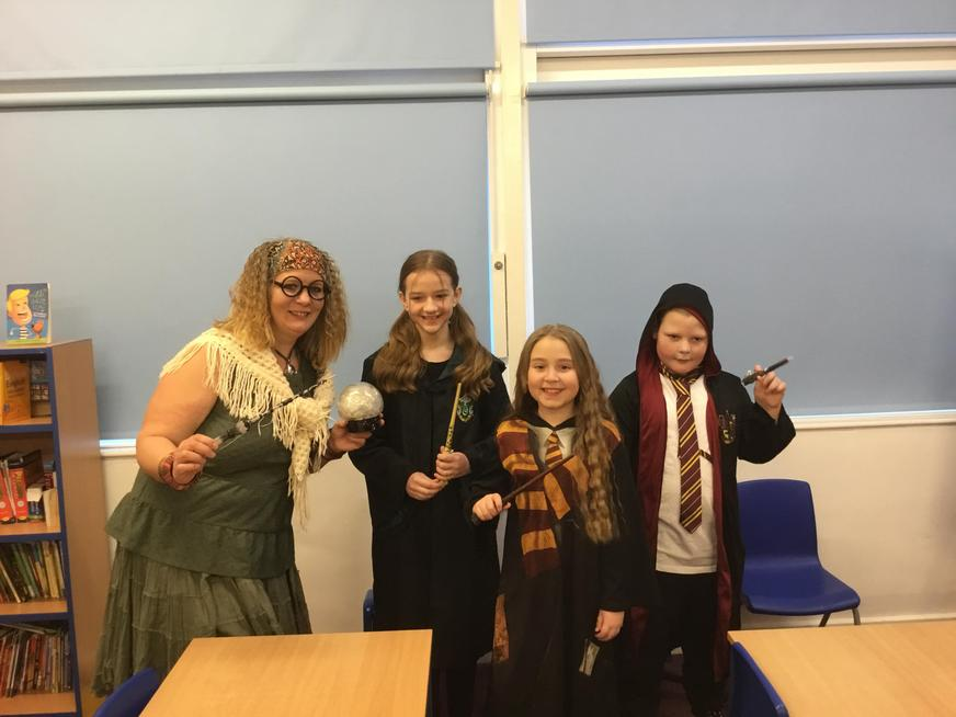Casting our Harry Potter spells