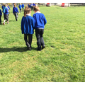 Year 3 Puffin Class on Walk and Talk Wednesday