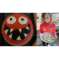 Our clever pupils made some amazing baked creations, yum yum!