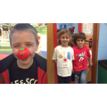 Pupils join in the fun on Red Nose Day!