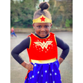 Another Sunny Bank Superhero ready for the Big Write