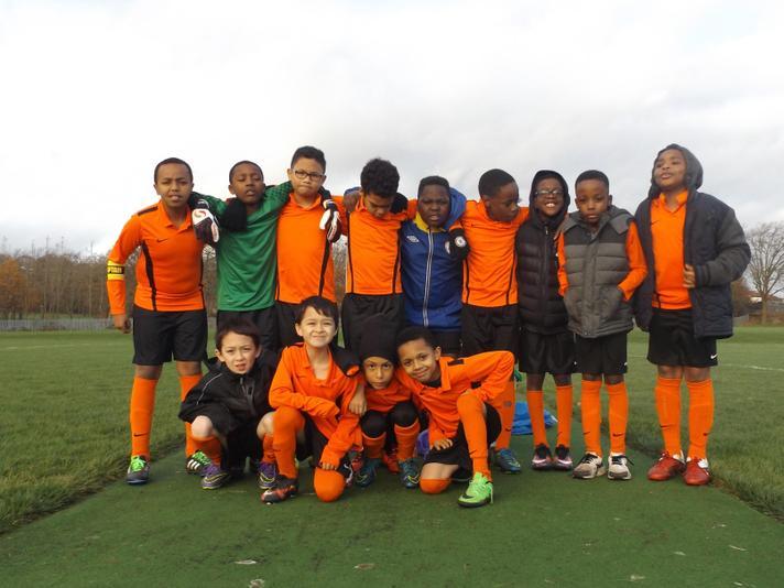 Kilburn Park Soccer Team 2015