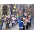 Year 1 trip to Tamworth Castle
