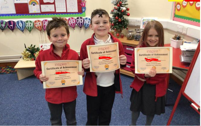 The playleaders have completed their training, well done!