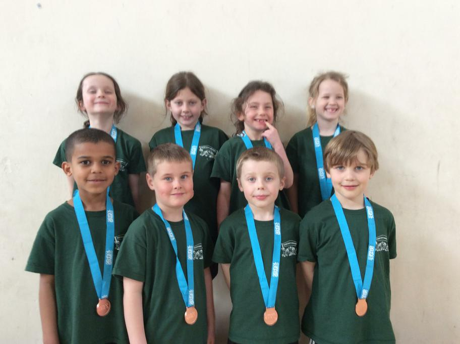 Well done for winning bronze medals!