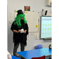 A special visitor to Maple Class. Does anyone recognise him?