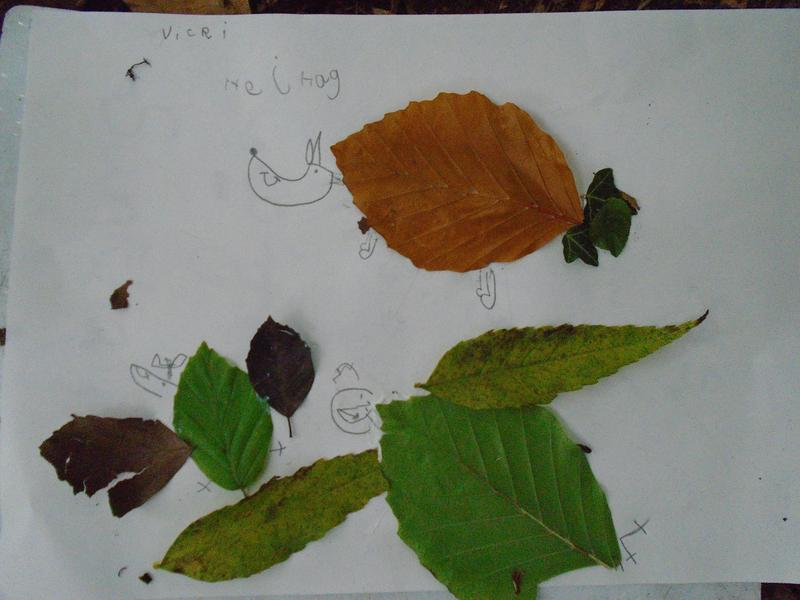 Animals inspired by leaves!
