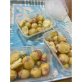 Field to fork - home grown potatoes