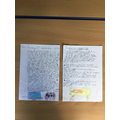 Children enjoyed re-calling summer holiday events