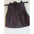 Grey skirt with buttons