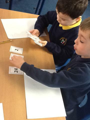 Finding & sorting numbers into odd & even
