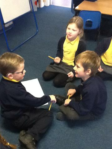 Planning our rhyming poems