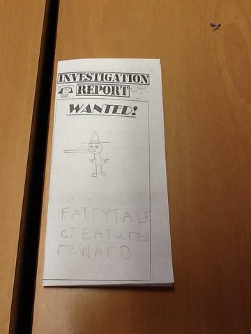 Our 'Wanted' booklets