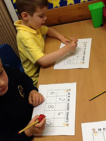 We found missing numbers