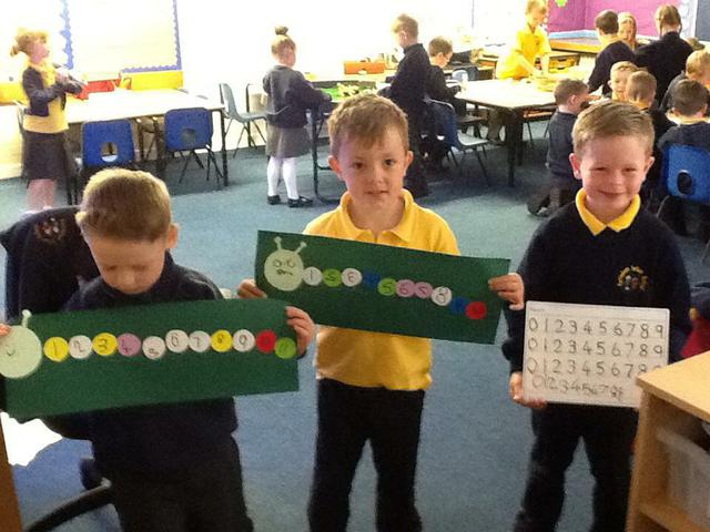 Ordering & writing numbers up to 20