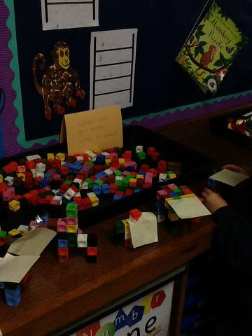 Look what we made with 10 cubes