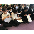 Y4's opening their Togetherness Day post from Team Reception