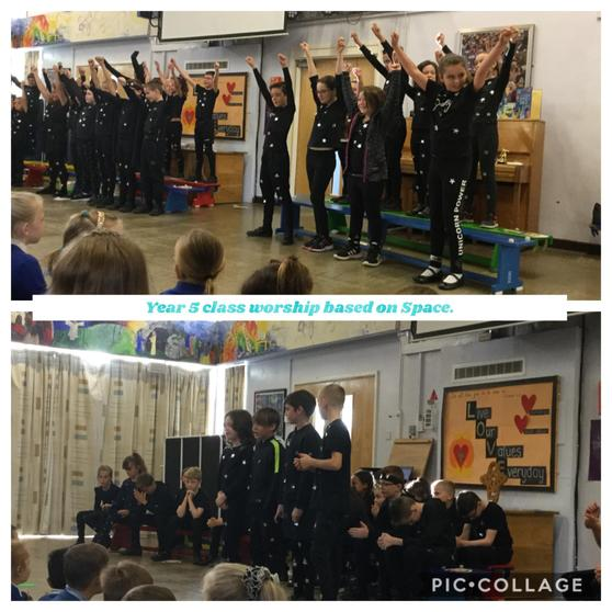 Y5 Class Worship: Space