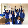 Year 6 were immersed in the selection of poems the class offered!t