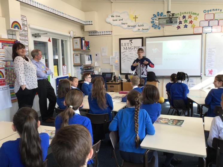 Paralympian Visit to inspire us to be 'Excellent'.