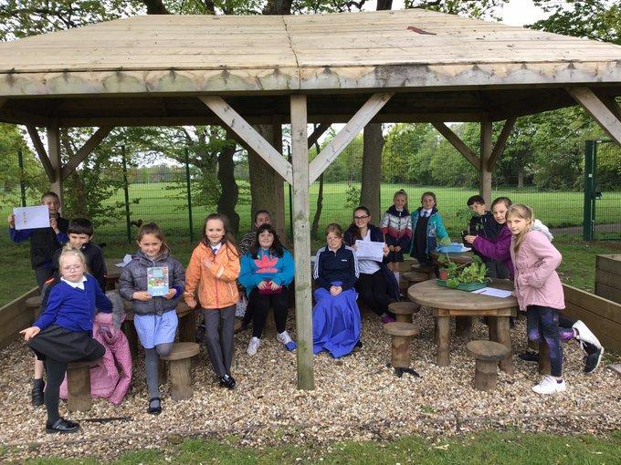 Firt Full Meeting Together - Outdoor Classroom