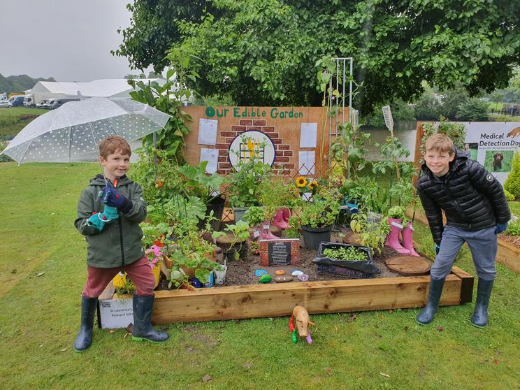 We wanted to create an edible garden for the community.