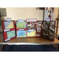 More exhibits in the Parish Church