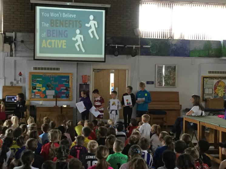 Promoting healthy, active lifestyles