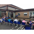 Y6 rehearsals for semi-finals