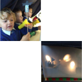 Shadow puppets with Bible Stories