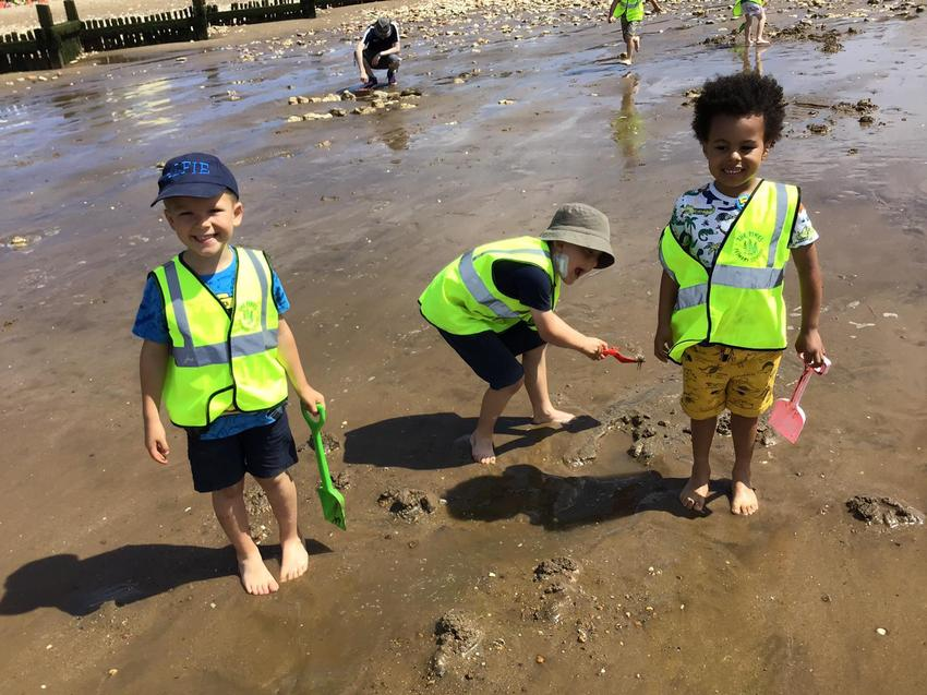 Cleaning up our beaches!