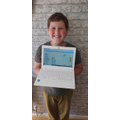 Leo was proud of his coding this week.