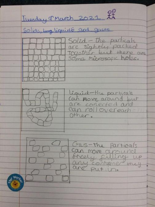 12th March - Grace is our STAR for her AMAZING science explanations!