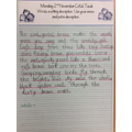 6.11.20: Matilda did some amazing descriptive writing this week.
