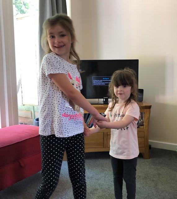 Amelia and Hayley danced together!